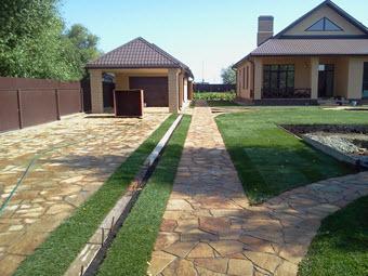 <ландшафтный дизайн садового участка, ландшафтный дизайн сада, Челябинск