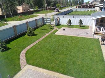 ландшафтный дизайн загородного дома, ландшафтный дизайн загородных домов