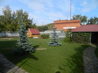 загородный ландшафтный дизайн, ландшафтный дизайн загородного участка, Челябинск
