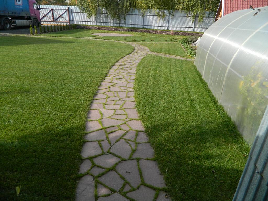 Как сделать травяной газон у себя на участке