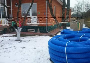 Дренаж вокруг дома Челябинск