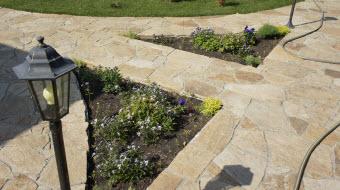 укладка плитняка, укладка природного камня, укладка натурального камня, укладка камня