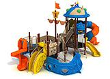 Игровой комплекс, игровой городок, игровая площадка, детская площадка, детский городок, игровой комплекс для детей, детская горка, уличный детский игровой комплекс, Челябинск