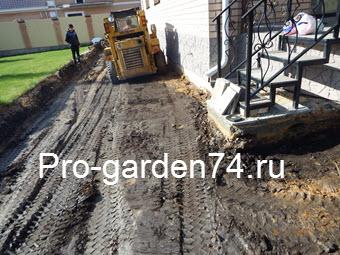 укладка тротуарной плитки в Челябинске